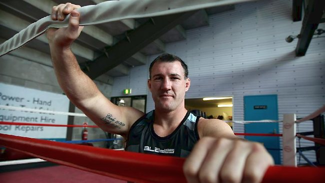 Paul Gallen wants to fight the NRL prop that knocked out Justin Hodges