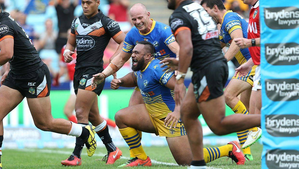 New star Paulo happy to help out Eels in 8-0 win over Wests Tigers