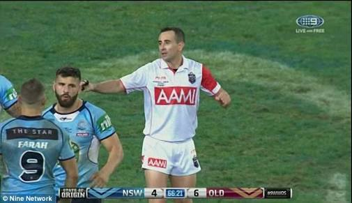 Archer defends referees after Origin performance