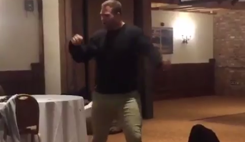 So you think you can dance Trent Merrin?