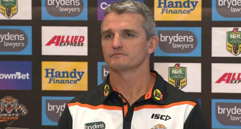 Furious Wests Tigers players leak departing Cleary text