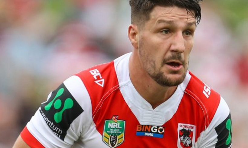Dragons confirm 2019 will be Gareth Widdop's last in the Big Red V