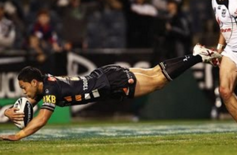 WATCH: The night Wests Tigers went mad and scored 46 points in 43 minutes