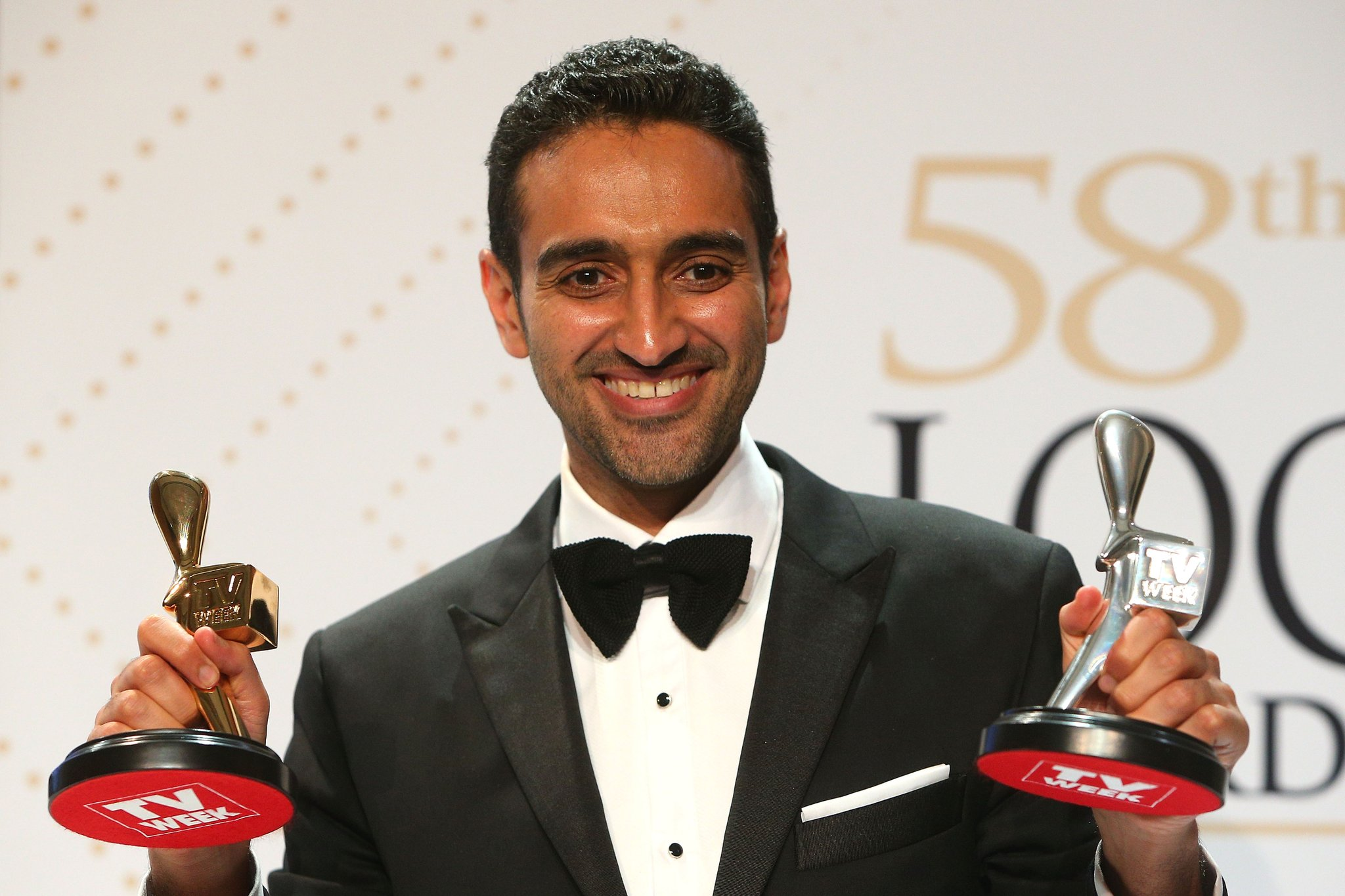 Gold Logie winner Waleed Aly helped get Curtis Scott to the Storm