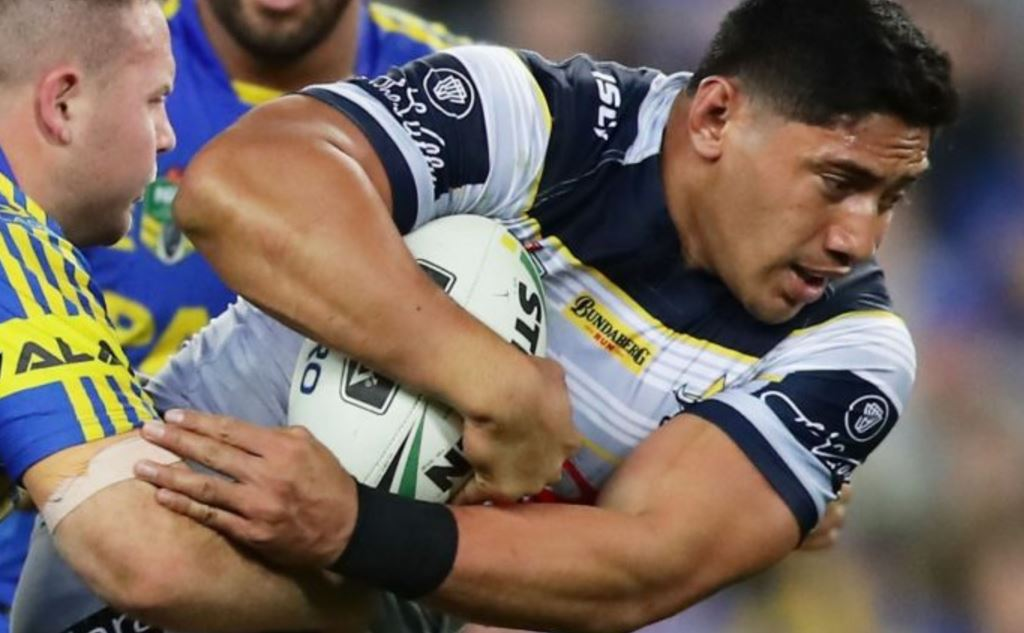 Taumalolo to JWH: Just bring it, bro!