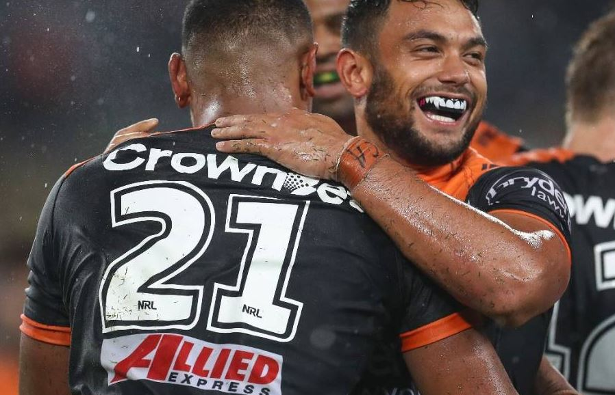 2018 Wests Tigers Depth Chart
