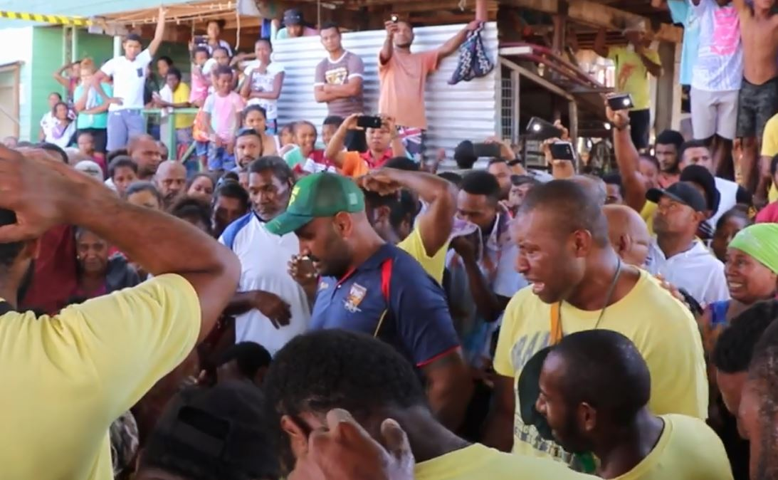 WATCH: PNG Hunters players pay respect to Kato Ottio