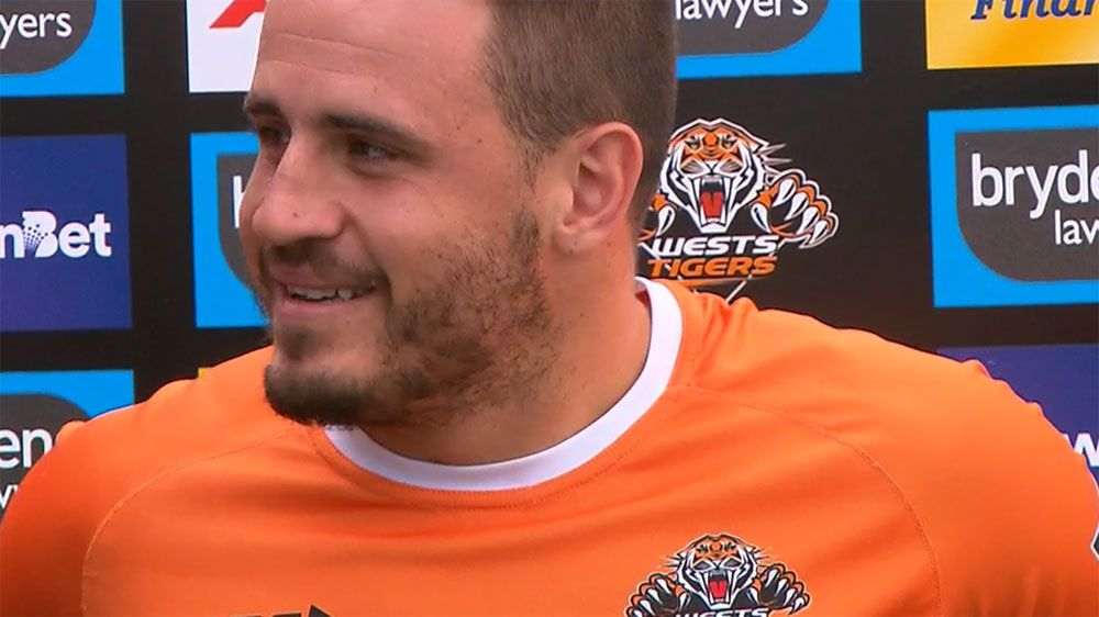 Black, white and gold suiting Josh Reynolds just fine