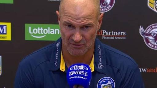 Embarrassed Brad Arthur says Eels 'didn't have a go' in 54-0 loss
