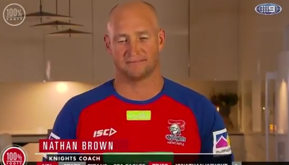 WATCH: Nathan Brown tells everyone to move on