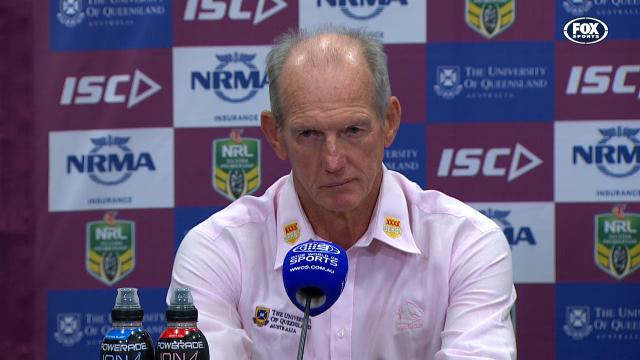 The guy that sacked Wally Lewis isn't sweating a 2-3 start to the season.. yet