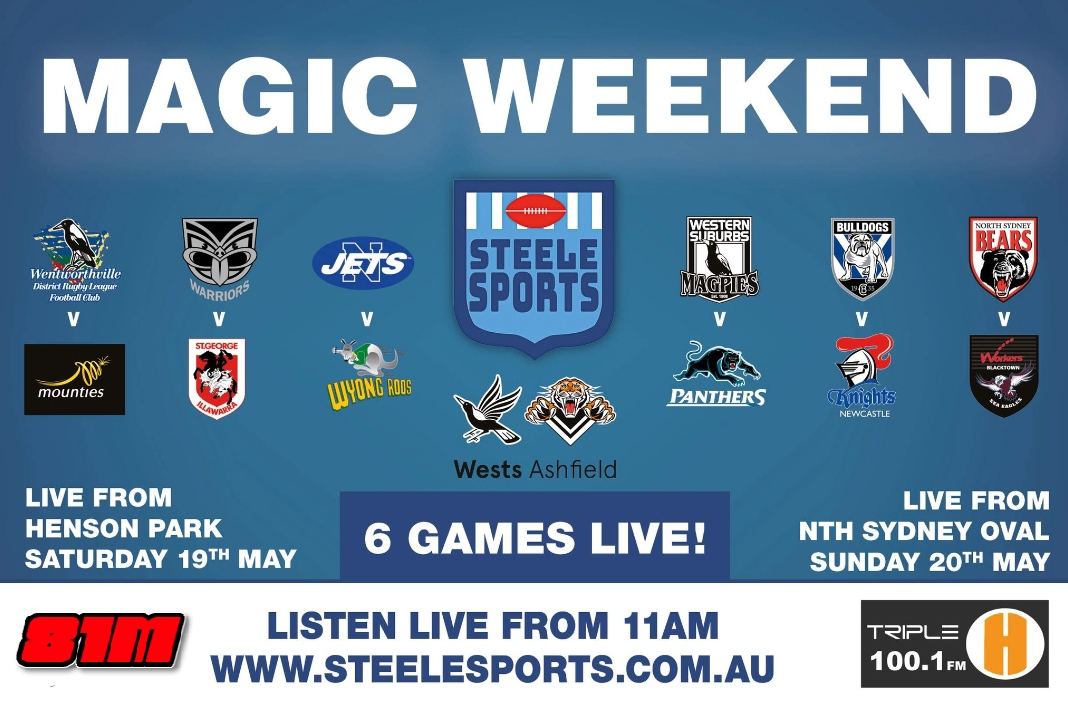 Steele Sports to present all six ISP games this weekend