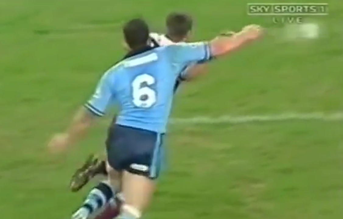 WATCH: Cameron Smith's first Origin in 2003