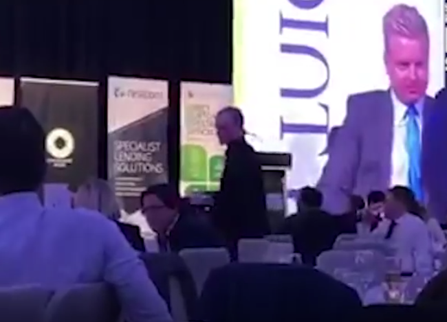 WATCH: Drunken Fox Sports presenter hijacks charity event
