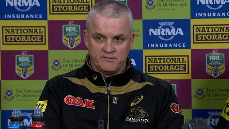 Panthers didn't believe Anthony Griffin had what it took to win a premiership