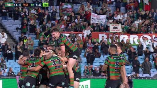 Wests Tigers fans blame referees despite 51-10 loss against Rabbitohs