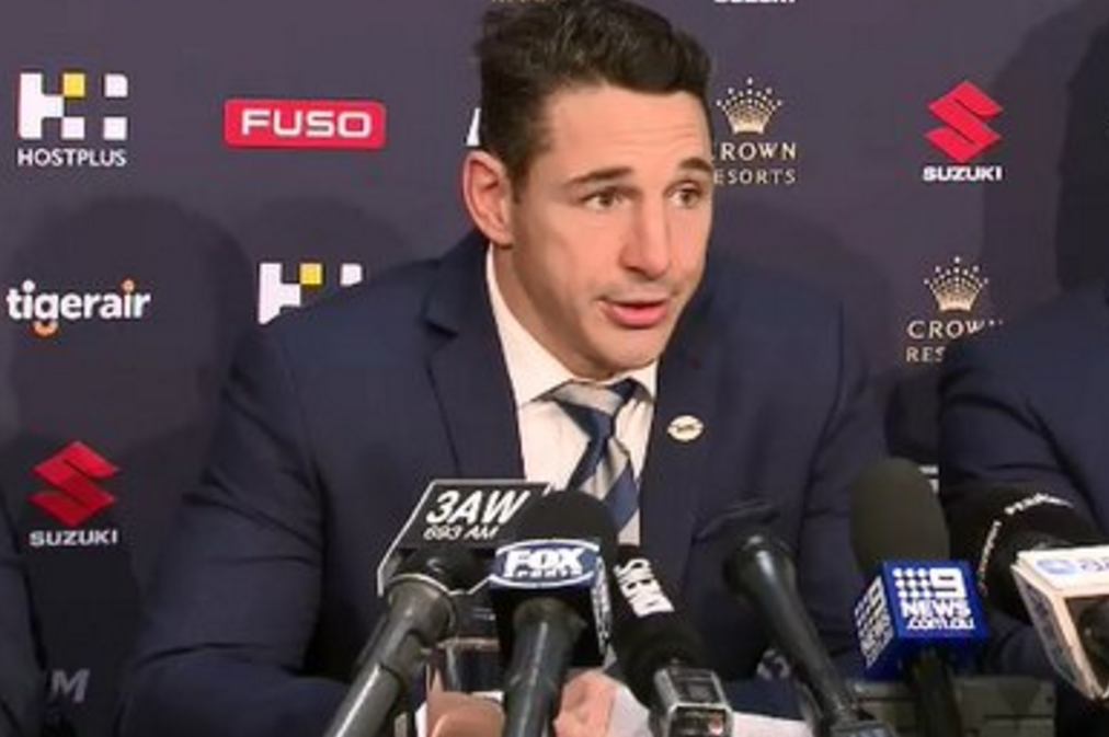 Emotional Slater confirms 2018 will be his final season of first grade rugby league