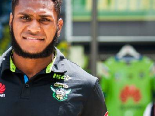 Kato Ottio smiling from above as mum's family home finally complete