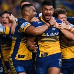 Bankwest Stadium crowd reacts to huge Eels win over Wests on opening day