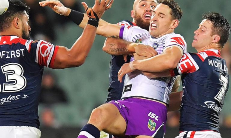 Legendary coach says fewer penalties have helped Storm and Roosters ahead of blockbuster clash