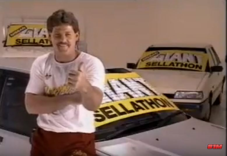 WATCH: Big Geno and the Nissan Giant Sellathon