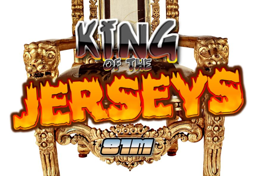 Only 16 jerseys remain: Round 3 voting open in King of the Jerseys!