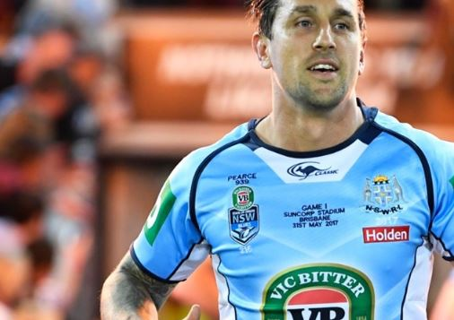 Mitchell Pearce finds unlikely ally in former Queensland captain ahead of Origin III
