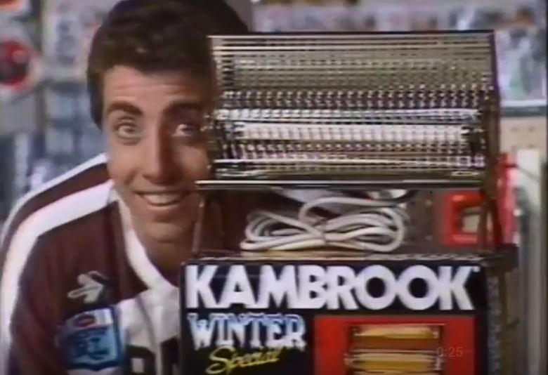 WATCH: 'Brandy' Alexander and Roycey Simmons flogging a hardware store back in 1987