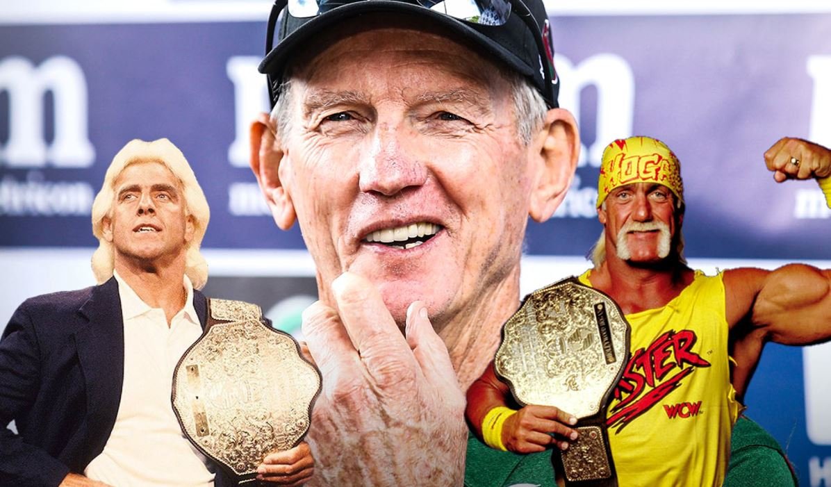 To be the man you got to beat the man: Why Wayne Bennett is the NRL's Hulk Hogan and Ric Flair all rolled into one