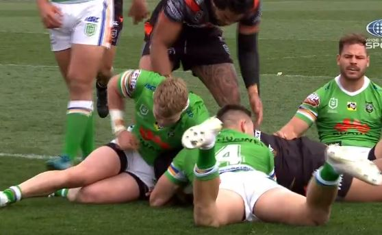 Left the field in a body bag: Reni Maitua rips into Hudson Young for second eye gouge this year