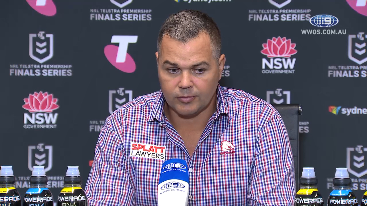 'I want winners': Anthony Seibold takes dig at team as Broncos smashed 58-0 against Eels