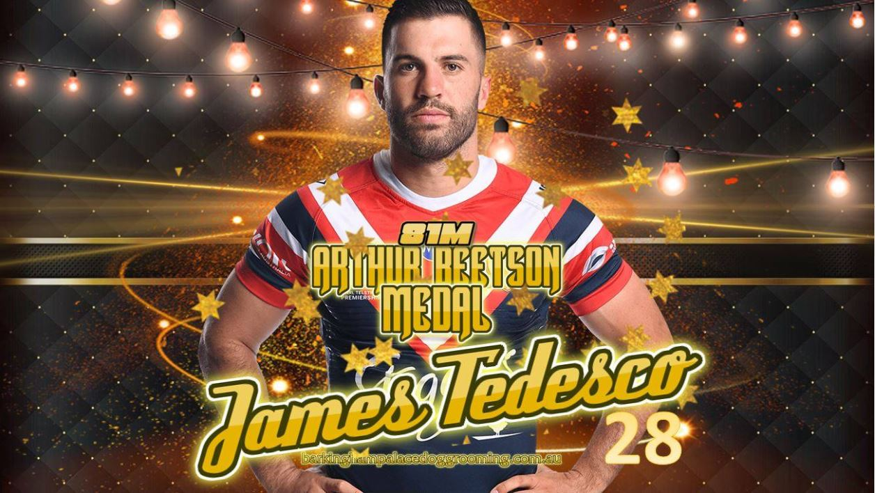 James Tedesco claims 2019 Arthur Beetson Medal win: All 34 awards announced
