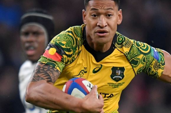 Israel Folau set to return to rugby league for Tonga in upcoming Test matches