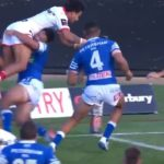WATCH: Son of Wendell scores cracking Canterbury Cup try