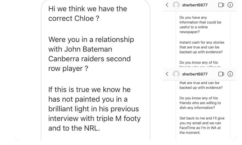 'You absolute freaks': John Bateman calls out 'journalist' for contacting mother of his child