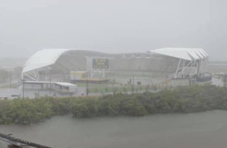 'Smart idea to build it on the banks of a river': New Townsville Stadium appears to flood