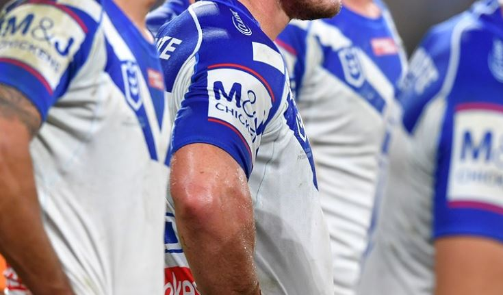 'Hasn't run for two weeks': Bulldogs say they will not rush Englishman Luke Thompson into the side
