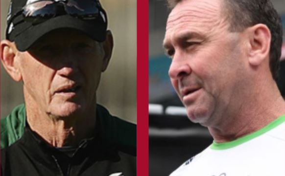 Ricky Stuart and Wayne Bennett give two of the all-time best sprays within matter of hours
